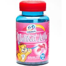 1×1 Vitamin MultiKid Jelly beans málna ízű gumivitamin 90db