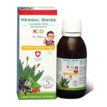 Herbal Swiss Kid Köhögés elleni szirup gyermekeknek 150ml