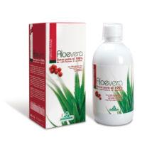 Specchiasol 100%-os Aloe Vera Ital Vörösáfonyával és Erdei gyümölccsel 1000ml