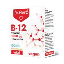 Dr. Herz B12-vitamin 1000 mcg + Szerves Cink kapszula 60 db