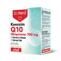 Dr. Herz Koenzim Q10 100 mg 60 db kapszula