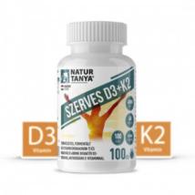 Natur Tanya® D3 + K2-vitamin 100db