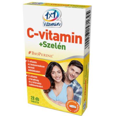 1×1 Vitamin C-vitamin + szelén BioPerine®-nel filmtabletta 28db