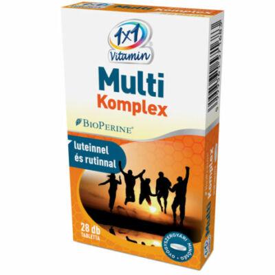 1×1 Vitamin Multi komplex BioPerine®-nel filmtabletta 28db