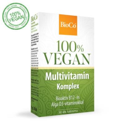 BIOCO 100% VEGAN MULTIVITAMIN KOMPLEX 30db