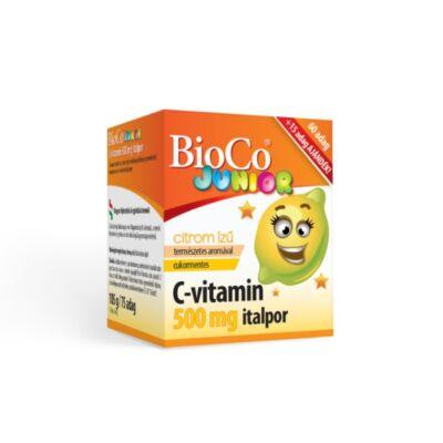 BioCo C-vitamin JUNIOR ITALPOR 500mg 105g 75 adag