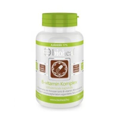 B-vitamin Komplex Időszemcsés nyújtott felszívódású Kapszula (70db) Bioheal