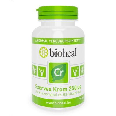Bioheal Szerves, Természetes Króm 250 μg tabletta 70db