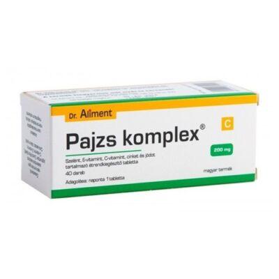 Dr. Aliment Pajzs Komplex 200mg Tabletta 40db