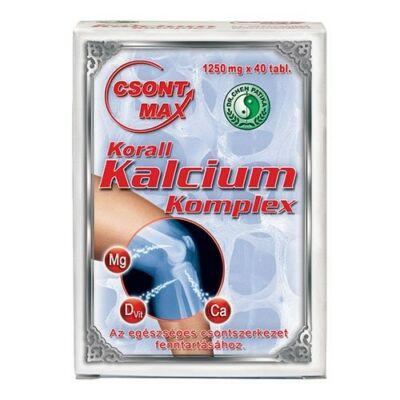 Dr.Chen Csont-MAX Korall Kalcium Komplex tabletta 40db