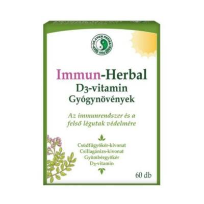 Dr. Chen IMMUN-HERBAL + D3-vitamin kapszula 60db