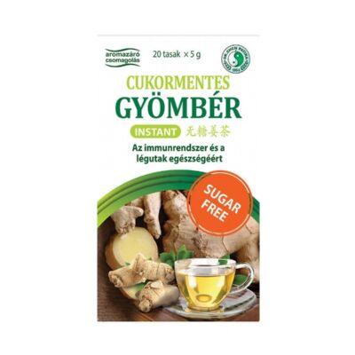 Dr. Chen Instant Gyömbér tea - CUKORMENTES - 20db