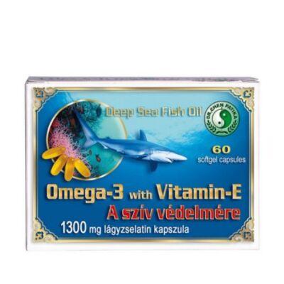 Dr. Chen Omega-3 + E-vitamin 1300mg kapszula 60db