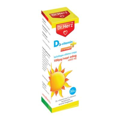 Dr. Herz D-vitamin csepp 50 ml