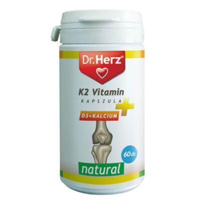 Dr. Herz K2 + D3 + Kalcium kapszula 60 db