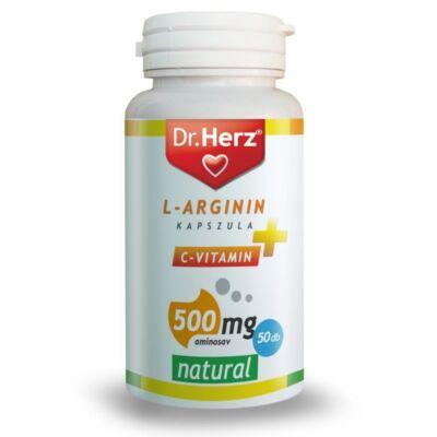 Dr. Herz L-Arginin + C-vitamin 500mg kapszula 50 db