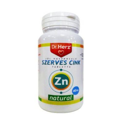 Dr. Herz Szerves Cink tabletta 60db