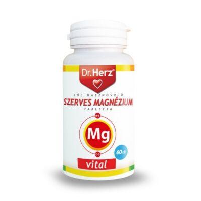 Dr. Herz Szerves Magnézium+B6+D3-vitamin tabletta 60db