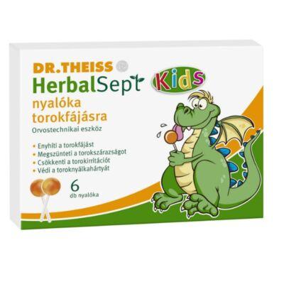 Dr. Theiss HerbalSept nyalóka torokfájásra 6db
