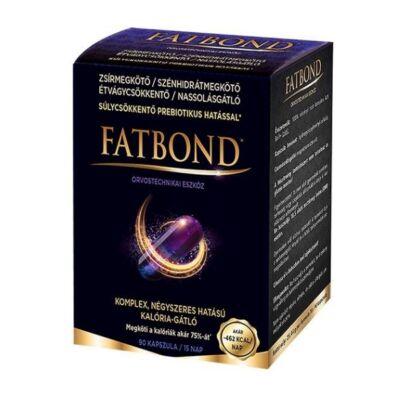 FATBOND® étvágycsökkentő, kalóriablokkoló kapszula 90db