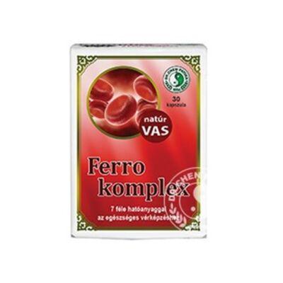 Ferro Komplex Kapszula 30db Dr. Chen