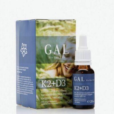 GAL K2-D3 vitamin 20ml (60 adag)