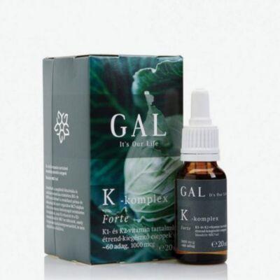 GAL K-komplex Forte vitamin, 1000 mcg K-komplex x 60 adag 20ml