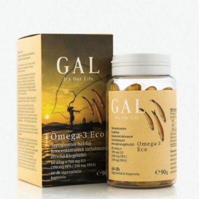 GAL Omega-3 Eco lágyzselatin kapszula 60db