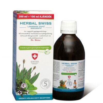 Herbal Swiss Felnőtt Köhögés elleni szirup 300ml