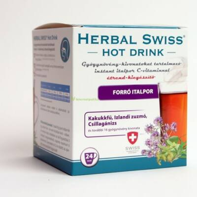 Herbal Swiss Hot Drink Italpor 24db