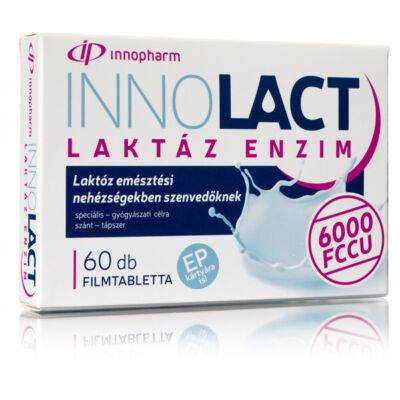 InnoPharm Innolact laktáz enzim 6000 FCCU filmtabletta 60db