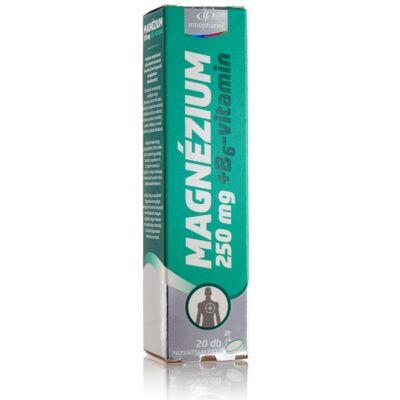 Innopharm Magnézium 250 mg + B6 pezsgőtabletta 20db