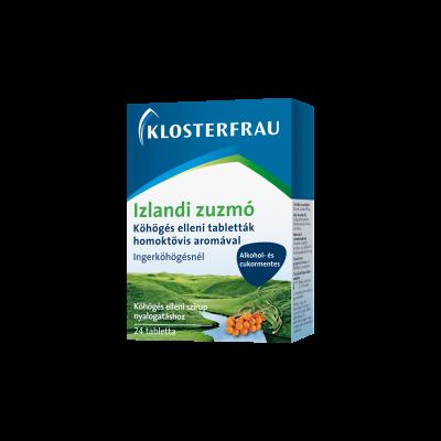 Izlandi Zuzmó köhögés elleni tabletta 24db Klosterfrau
