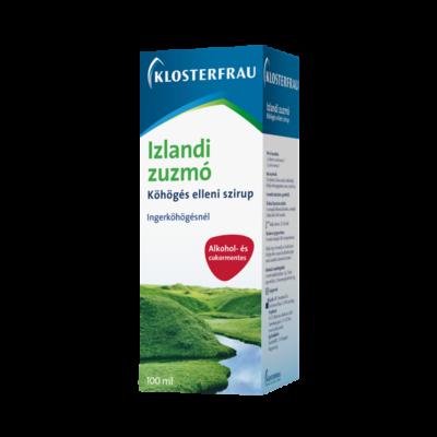 Izlandi zuzmó köhögés elleni szirup 100ml Klosterfrau