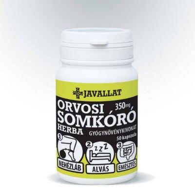 JAVALLAT ORVOSI SOMKÓRÓ HERBA kapszula 50db