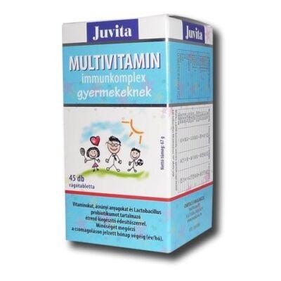 JutaVit Multivitamin Immunkomplex gyerekeknek 45db