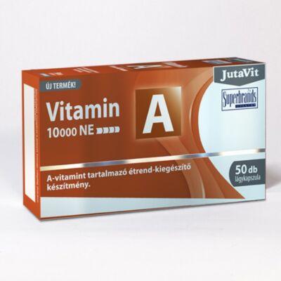 JutaVit A-vitamin 10000NE lágykapszula 50db