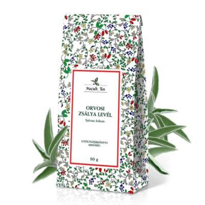 Mecsek tea Orvosi zsálya levél szálas monotea 50 g