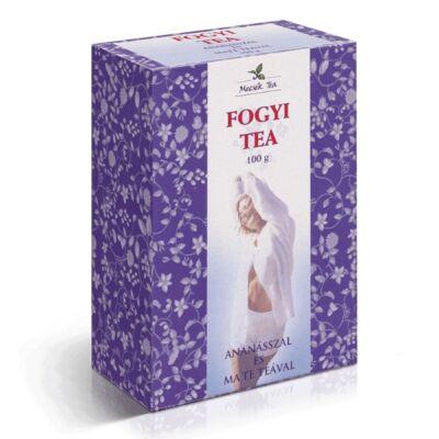 Mecsek Tea Fogyi teakeverék ananásszal és mate teával 100g