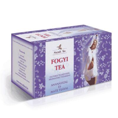 Mecsek tea Fogyi filteres teakeverék ananásszal és mate teával 20db