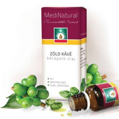 MediNatural Zöld kávé bőrápoló olaj 20ml