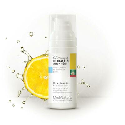 MediNatural C-vitaminos hidratáló arckrém 50ml