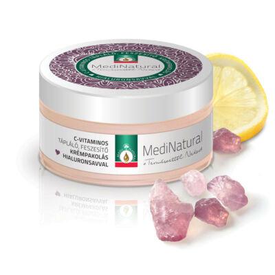 Medinatural Anti-aging arcpakolás C-vitaminos tápláló, feszesítő krémpakolás Hialuronsavval 100ml