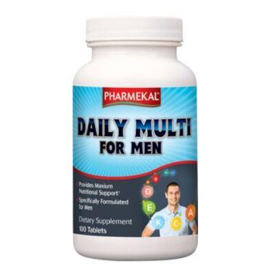 Multi-vitamin Férfiak részére 100db Pharmekal