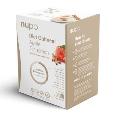 NUPO Diet Oatmeal – Almás & fahéjas zabkása – 12 adagos
