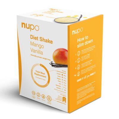 NUPO Diet Shake – Mangó & Vanília – 12 adagos