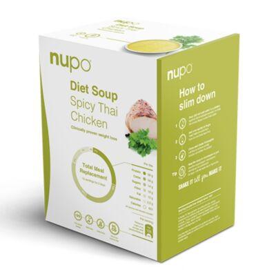 Nupo Diet Soup – Fűszeres thai csirke – 12 adagos