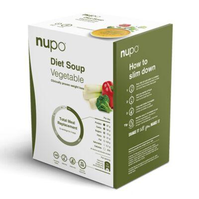 Nupo Diet Soup – Zöldségkrém leves – 12 adagos