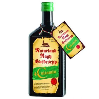 Nagy Svédcsepp + C-vitamin 500ml Naturland