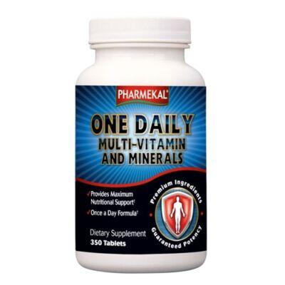 Napi 1 multi-vitamin és ásvány komplex tabletta 350db (családi kiszerelés) Pharmekal